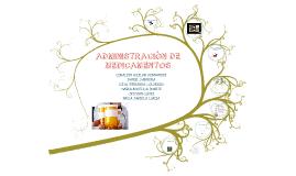 Copy of Copy of Administración De Medicamentos