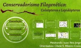 Conservadorismo Filogenético: Coleópteros e Lepidópteros