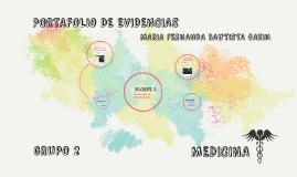 portfolio DE EVIDENCIAS
