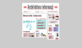 Architekt informacji, kto, co i dlaczego