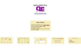 Junta directiva 26.04.2018