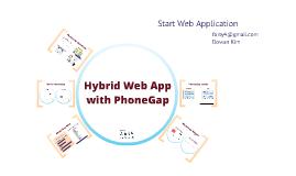 Hybrid Web App with PhoneGap