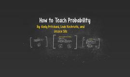 How to Teach Probability