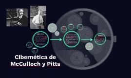 Cibernética de McChulloch y Pitts