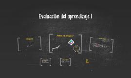 Evaluación del aprendizaje (1)