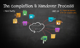 The completion & Handover Process