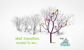 What Transition means to me...