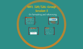 MFL 326: Group Session 6