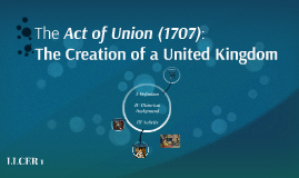 The Act of Union (1707):