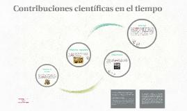 Contribuciones cientificas en el tiempo