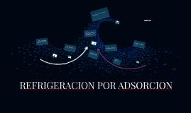 REFRIGERACION POR ADSORCION
