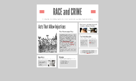 Copy of RACE and Crime