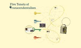 Five Tenets of Transcendentalism