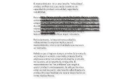 MANTENIMIENTO PREVENTIVO Y COLECTIVO DE LAS MAQUINAS HERRAMIENTAS