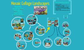 Mosaic Collage Landscapes