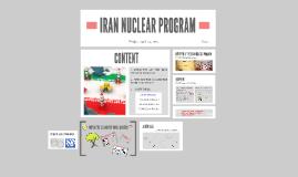 Copy of Copy of IRAN NUCLEAR PROGRAM