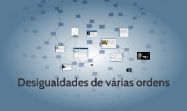 Copy of Copy of Desigualdades de várias ordens