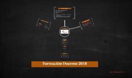Formación Docente 2018