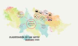 Copy of Clasificación de las artes