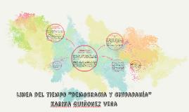 """Copy of Linea del tiempo """"democracia y ciudadanía"""""""