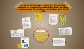 Copy of Adecuación del sistema de evaluación y los métodos de enseña