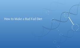 Formula for Diets