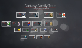 Fantasy Family Tree