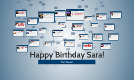 Happy Birthday Sara!