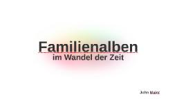 Familienalben