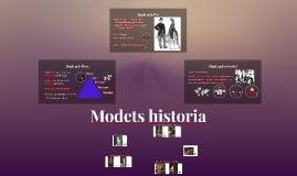 Modets historia