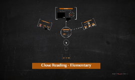 Elementary Close Reading