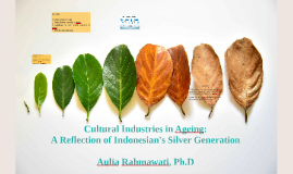 Cultural Industries in Ageing: A Reflection of Indonesian's