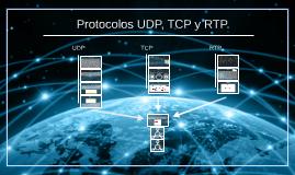 Protocolos UDP, TCP y RTP