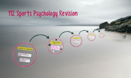 Y12 Sports Psychology Revision