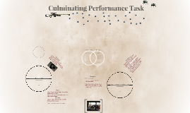 Culminating Performance Task