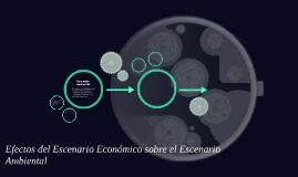 Efectos del Escenario Economico sobre el Escenario Ambiental