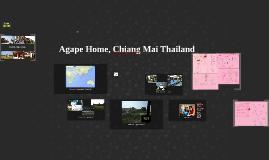 Agape Home, Chiang Mai Thailand
