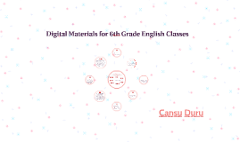 Digital Materials for English Classes