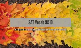 SAT Vocab 8&9