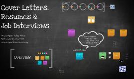Copy of Resumes & Job Interviews
