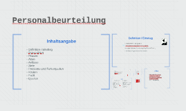 Personalbeurteilung by Louisa Roters on Prezi