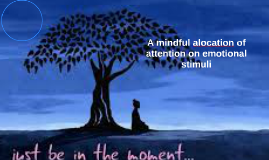 A mindful alocation of attention on emotional stimuli