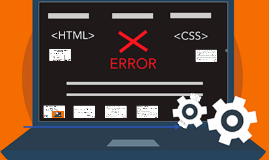 erros html e css