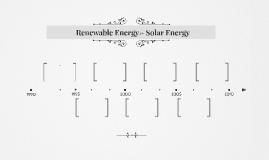 Renewable Energy-> Solar Energy