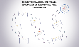 PROYECTO DE FACTIBILIDAD PARA LA PRODUCCIÓN DE ÁCIDO BÓRICO