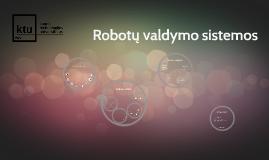 Robotų klasifikavimas