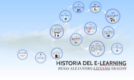 HISTORIA DEL E-LEARNING