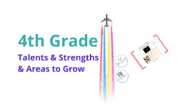 4th grade: Talents & Strengths & Areas to Grow