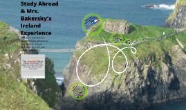 Diversity Day-Ireland Study Abroad