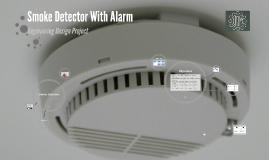 Smoke Detector With Alarm